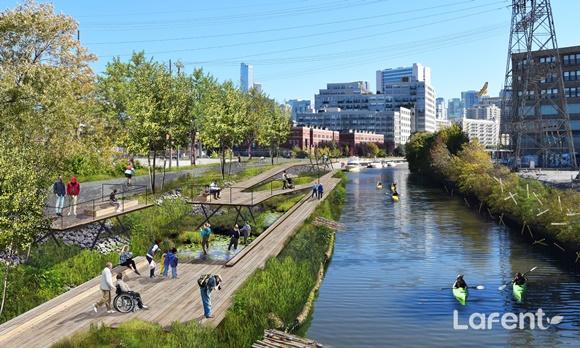 [해외토픽] 세계 최초 물 위를 떠다니는 생태공원 'Wild Mile Chicago'