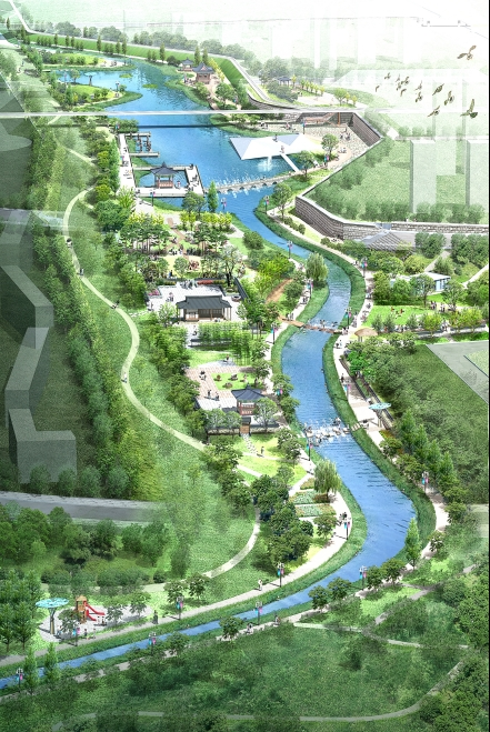 Landscape Architecture Design Competition for Wirye New ...